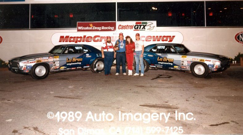 It was an all-Lebrun final at Maple Grove in 1989. Dave ended up with the Wally.