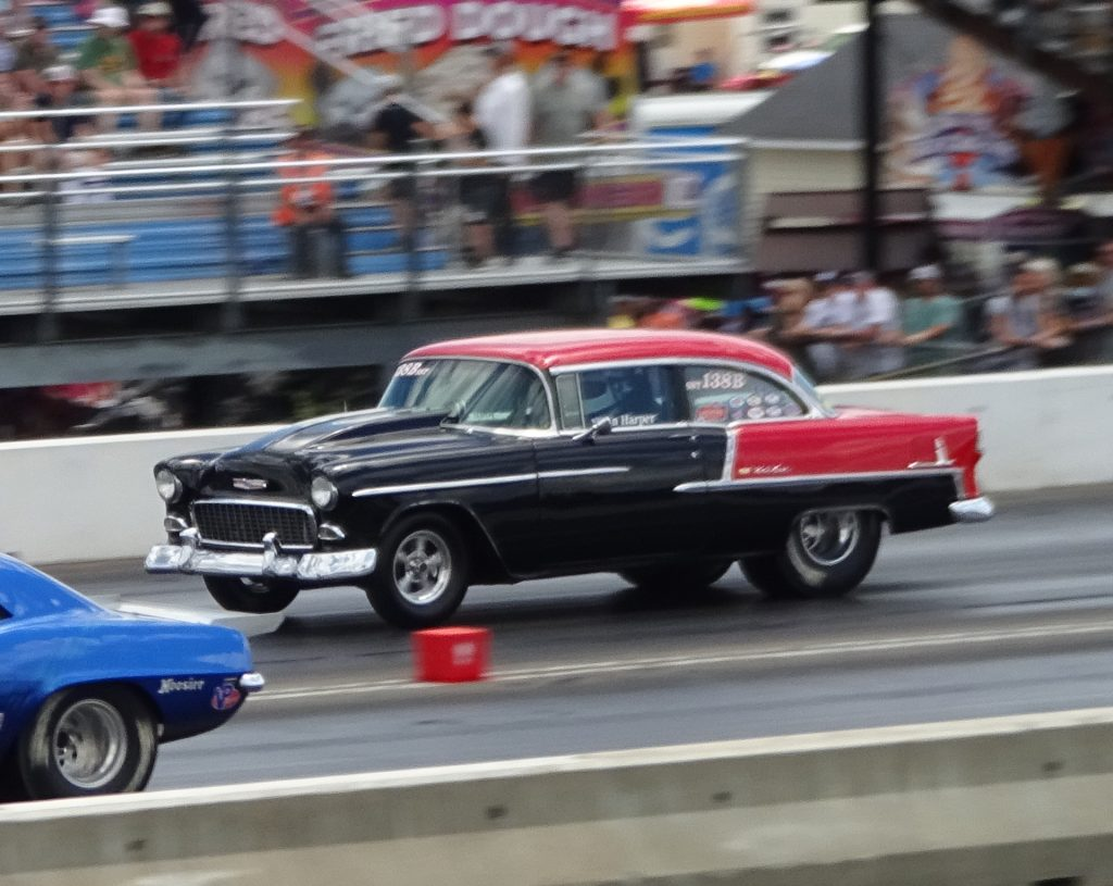 John Harper took his 1955 Chevy to the Winner's Circle in Super Street. Billy Anderson photo